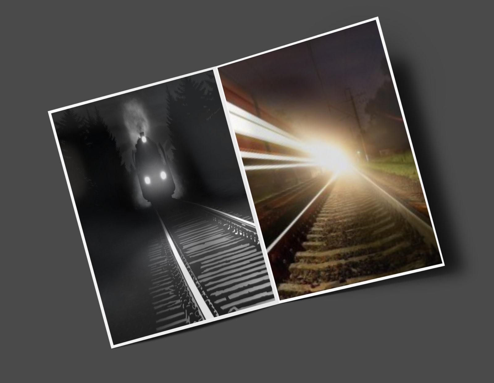 Призрак железной дороги в Нью-Джерси