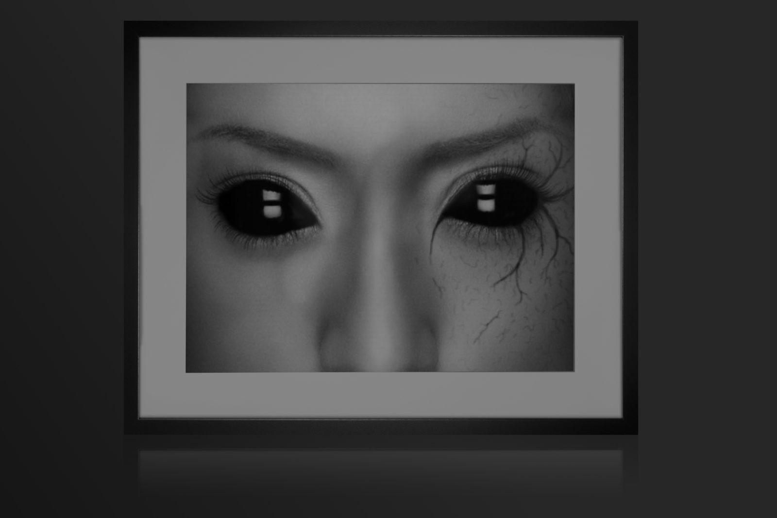Истории о встречах с людьми с черными глазами