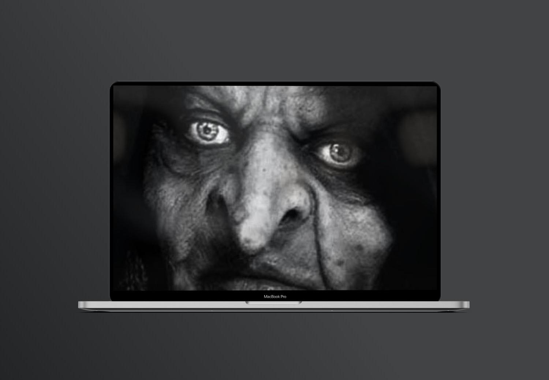 Призрак злобной старухи